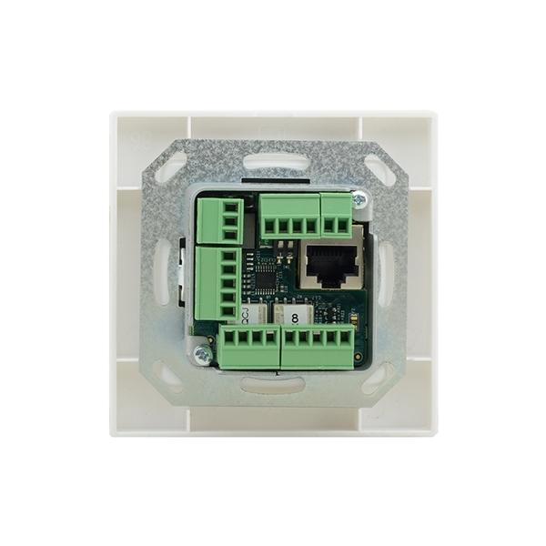 Kramer RC-306/EU-80/86(W) - Панель управления универсальная с 6 кнопками с PoE, исполнение для Европы