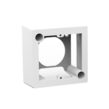Kramer OWB-1G/65 - Настенная пластиковая коробка для установки панелей 1G