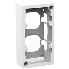 Kramer OWB-2G/65 - Настенная пластиковая коробка для установки панелей 2G