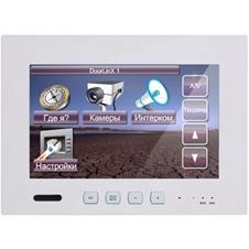 ClearOne NS-TL700 - Сенсорная панель 177 мм с подключением по IP, микрофоном, функцией интеркома, 2-портовый Ethernet-коммутатор, 28 В