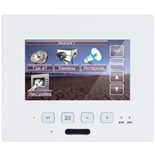 ClearOne NS-TL430 - Сенсорная панель 109 мм с подключением по IP, микрофоном, функцией интеркома, 2-портовый Ethernet-коммутатор, 28 В