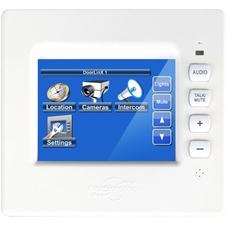 ClearOne TL380 - Сенсорная панель 96 мм с подключением по IP, микрофоном, функцией интеркома, 4-портовый Ethernet-коммутатор, 28 В