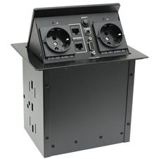 Qtex MDA-558 - Настольный автоматический модуль кабельных подключений