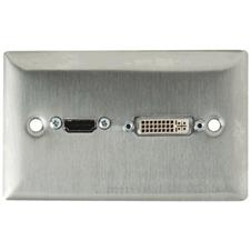 Gefen WP-HDMI-DVI - Панель c проходными DVI и HDMI разъемами