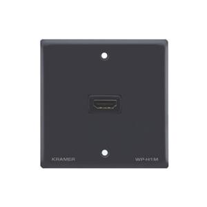 Kramer WP-H1M/EU/GB(G) - Пассивная стенная панель с проходным разъемом HDMI