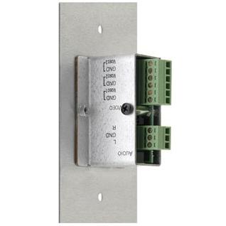 Kramer WAV-2/U(G) - Настенная панель-переходник для видеосигналов (YUV, CV, YC, RGB) и звукового сигнала