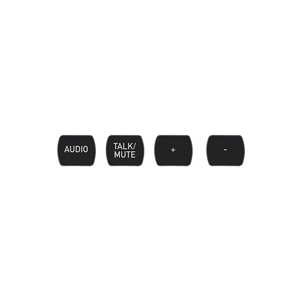 ClearOne NS-TL10BT-TM-B - Комплект кнопок (10 штук), лазерная гравировка «Talk/Mute»