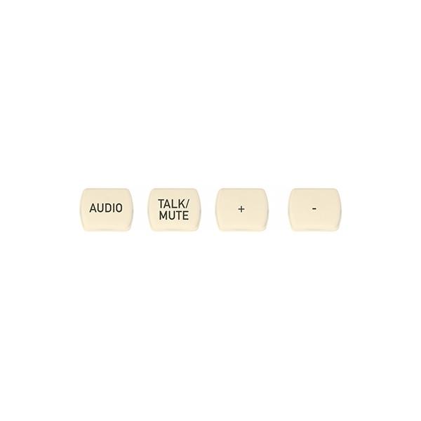 ClearOne NS-TL10BT-TM-I - Комплект кнопок (10 штук), лазерная гравировка «Talk/Mute»