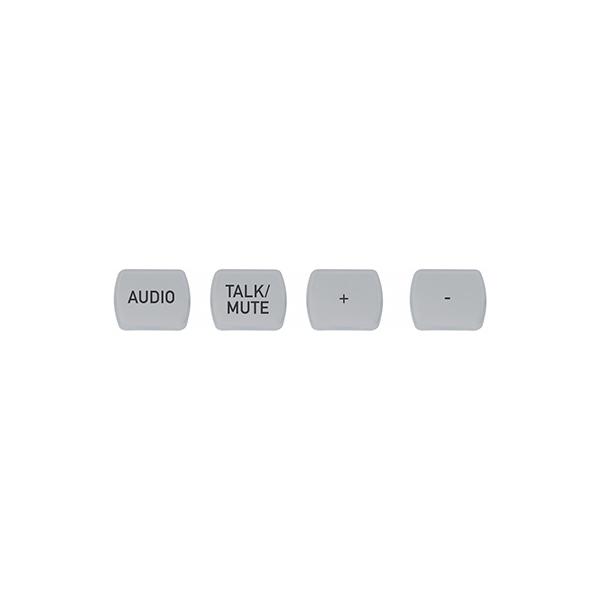 ClearOne NS-TL10BT-TM-T - Комплект кнопок (10 штук), лазерная гравировка «Talk/Mute»