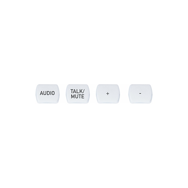 ClearOne NS-TL10BT-TM-W - Комплект кнопок (10 штук), лазерная гравировка «Talk/Mute»