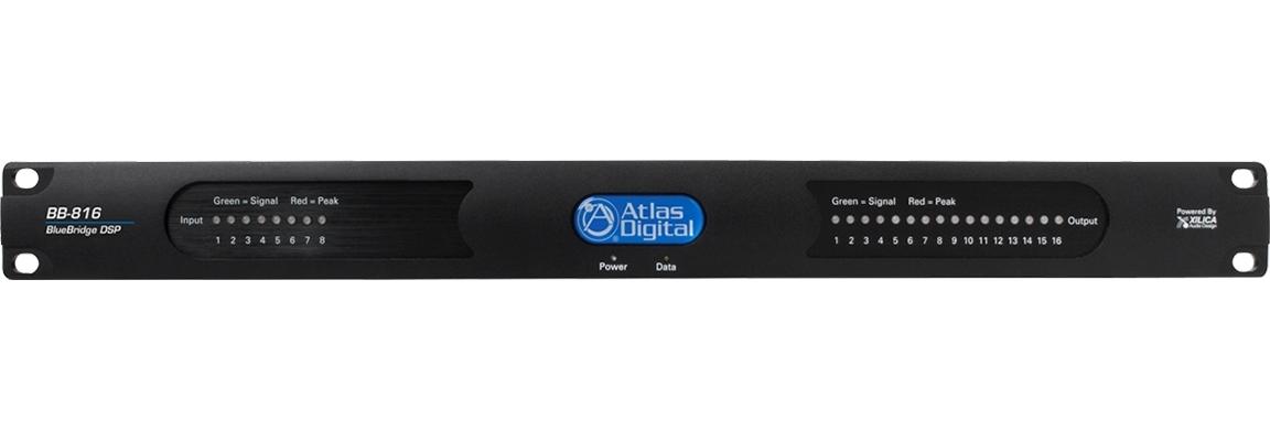 Atlas IED BB-816 - Цифровой аудиопроцессор BlueBridge, 8 входов/ 16 выходов
