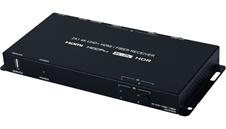 Cypress CPLUS-21FRX - Передатчик, коммутатор, масштабатор сигналов HDMI 4K/60 c HDCP 1.4 (2.2) и VGA 1080p60 в витую пару