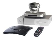 ClearOne Collaborate Room FHD 200 - Комплект ВКС: видеокодек 1080p30 с протоколами SIP/H.323, микрофонный массив, PTZ-камера 18x, пульт управления