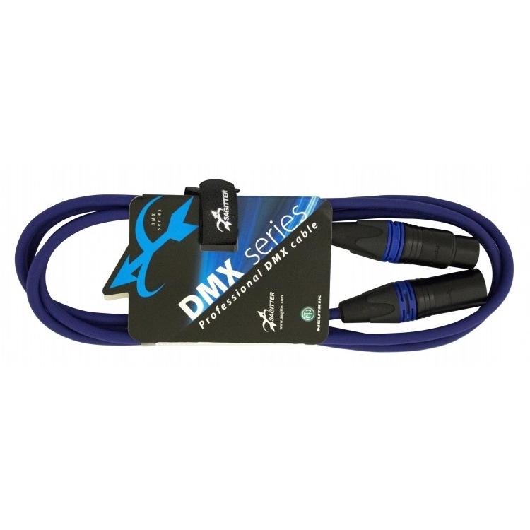 Sagitter SG DMX3LU02 - Профессиональный кабель DMX XLR 3-pin (розетка-вилка)