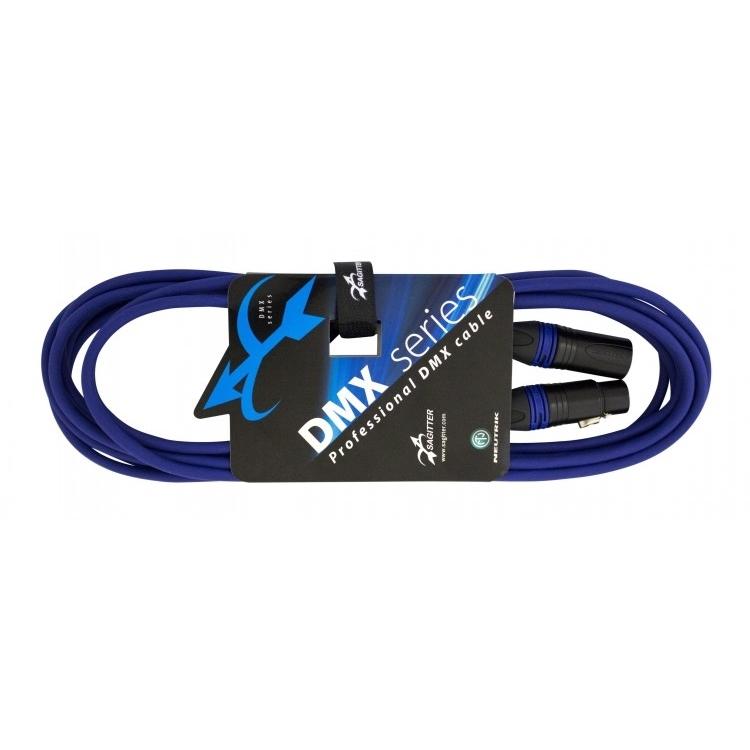 Sagitter SG DMX3LU05 - Профессиональный кабель DMX XLR 3-pin (розетка-вилка)