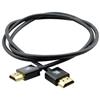 Kramer C-HM/HM/PICO/BK-1 - Кабель HDMI-HDMI 4K/60 (4:4:4) с Ethernet (вилка-вилка), черный