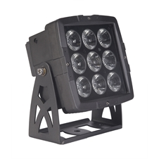 Sagitter SG IPLED9C - Всепогодный архитектурный светильник 9 x 10 Вт RGBW LED, IP65
