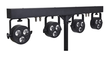 Sagitter SG LEDKITHP3C - Готовый комплект из 4 прожекторов 3 x 6 Вт RGBW LED