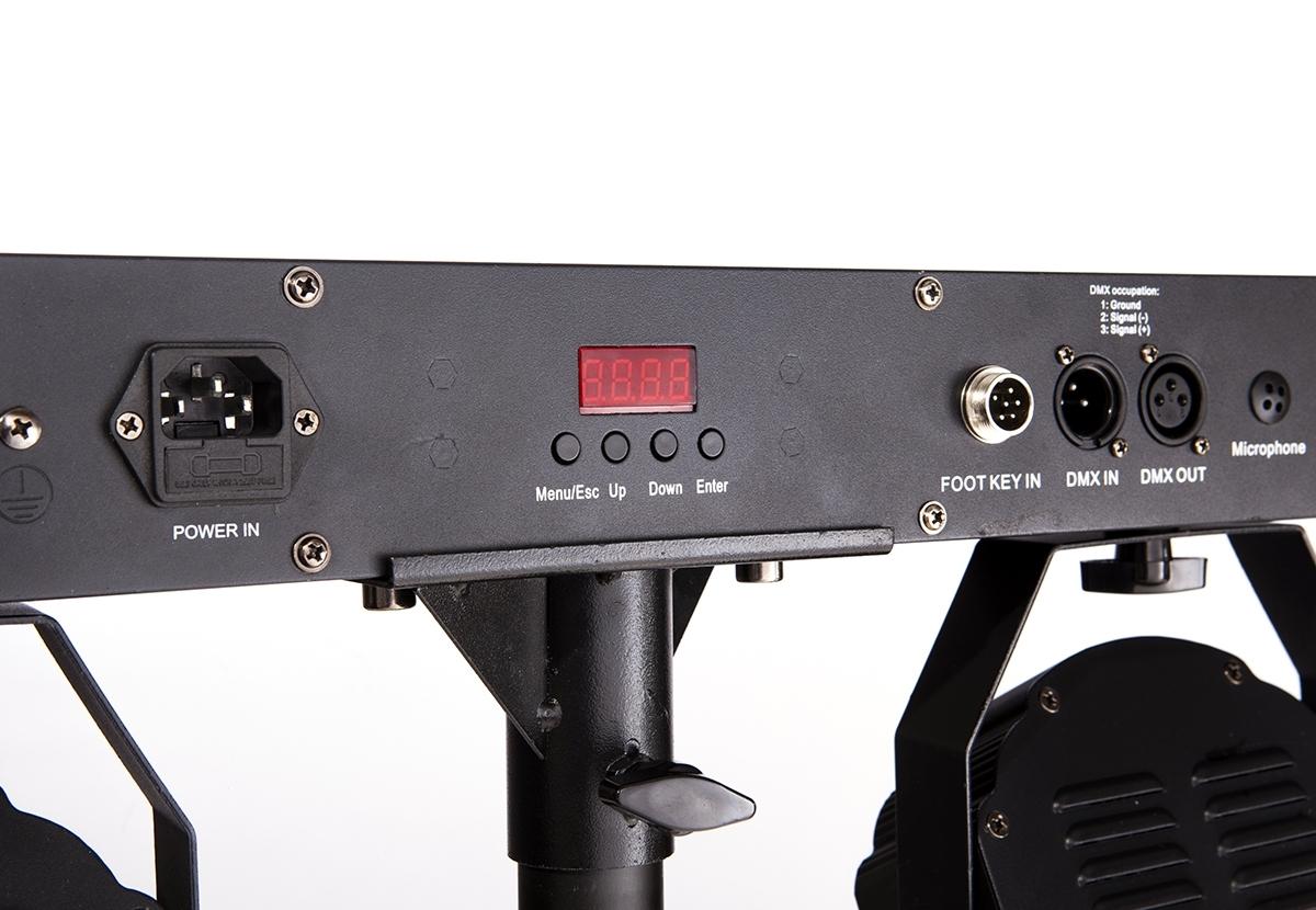 Sagitter SG LEDKITHP7 - Готовый комплект из 4 прожекторов 7 x 20 Вт RGBW LED