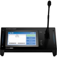Atlas IED IPCSDTOUCH-G - Настольная микрофонная станция с интерактивным дисплеем 7'' для системы GLOBALCOM