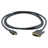 Kramer C-HM/DM-15 - Переходной кабель HDMI (вилка) на DVI (вилка)