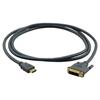 Kramer C-HM/DM-3 - Переходной кабель HDMI (вилка) на DVI (вилка)