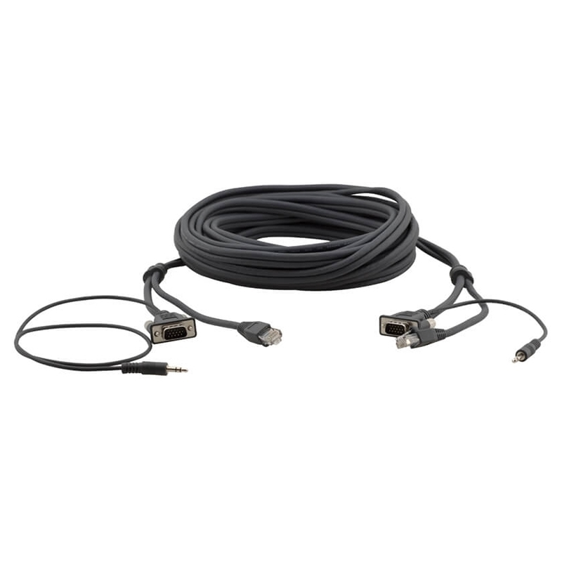 Kramer C-GMAC/GMAC-10 - Кабель Micro VGA, аудио и RJ45
