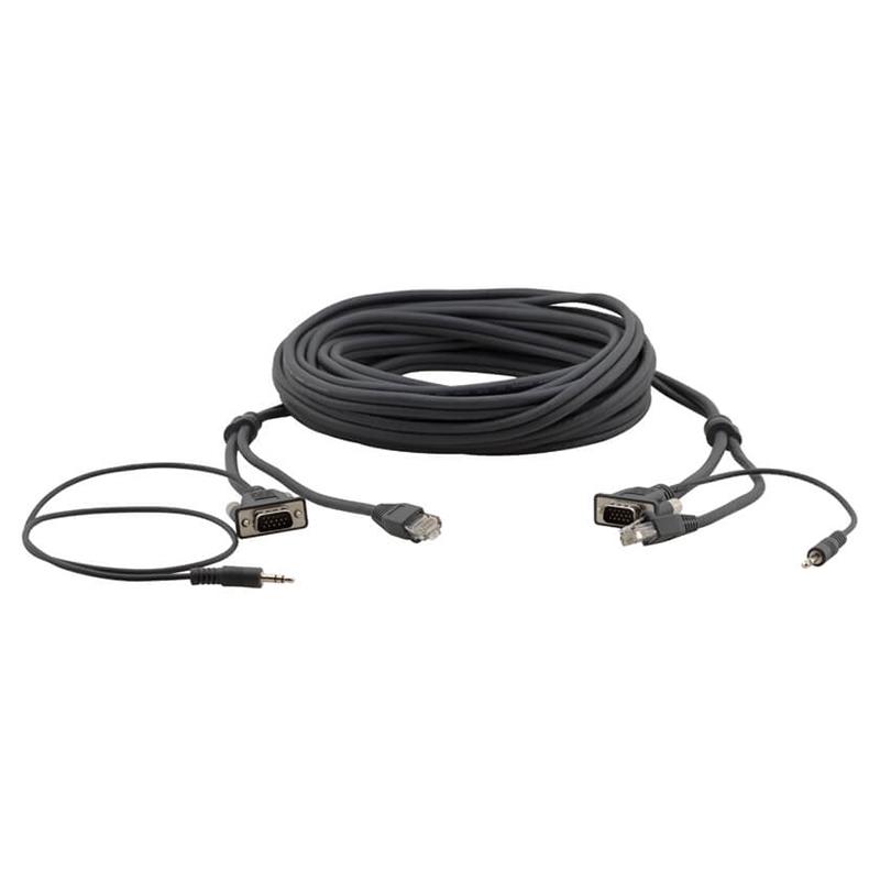 Kramer C-GMAC/GMAC-15 - Кабель Micro VGA, аудио и RJ45