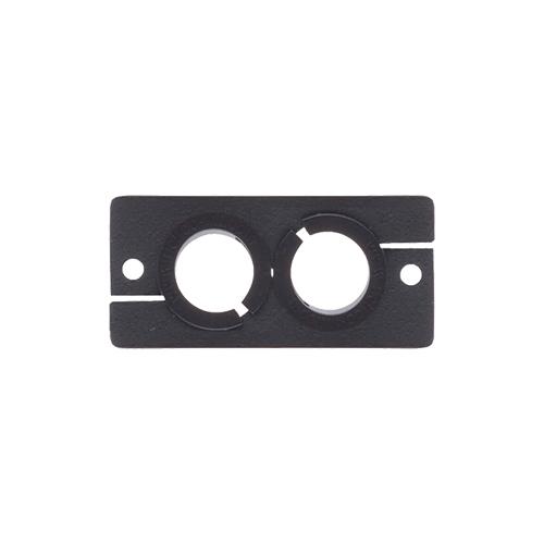 Kramer WCP-2 - Заглушка с 2-мя отверстиями под кабель