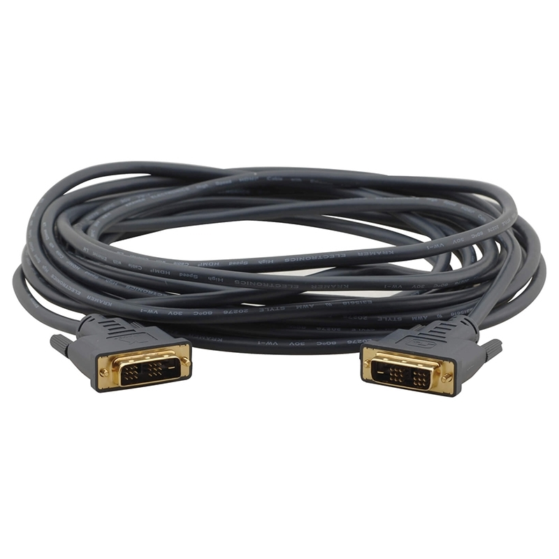 Kramer C-MDM/MDM-3 - Кабель DVI Single Link (вилка-вилка), гибкий
