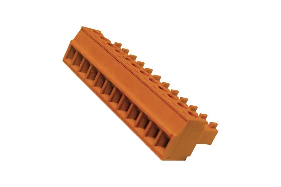 ClearOne CTB-12P/ORG - Разъем – Term Block/F 12 POS 3.81 MM SPC (клеммный блок Phoenix)