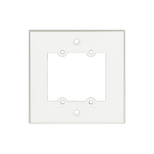 Kramer FRAME-1G/BG(W) - Рамка для монтажа модулей-переходников на два места