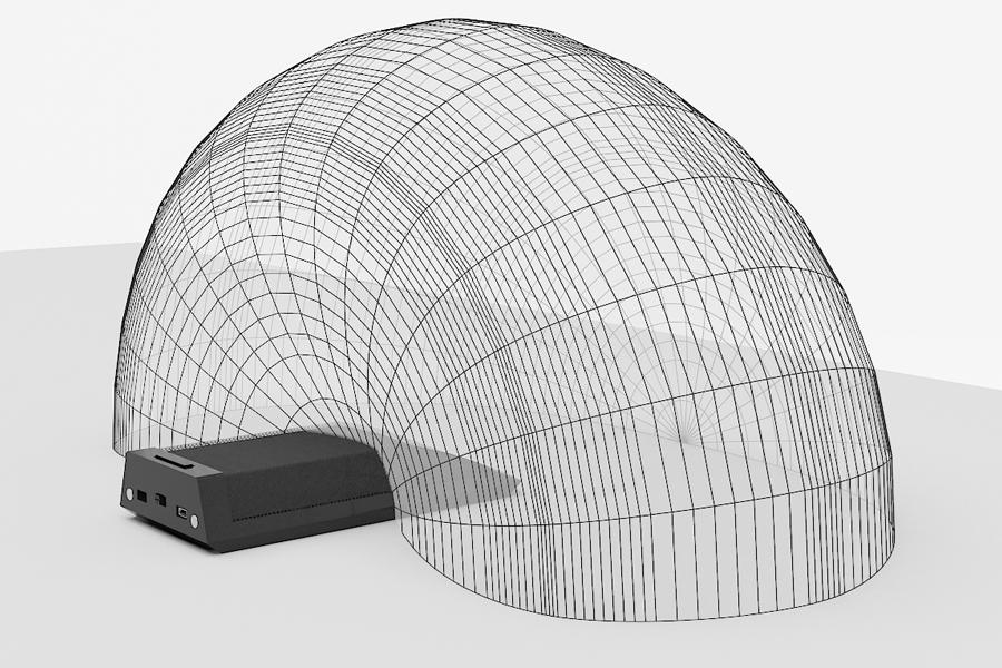 ClearOne WS-TCM-M610 - Беспроводной настольный микрофон с кардиоидной диаграммой (частоты 603-630 МГц)
