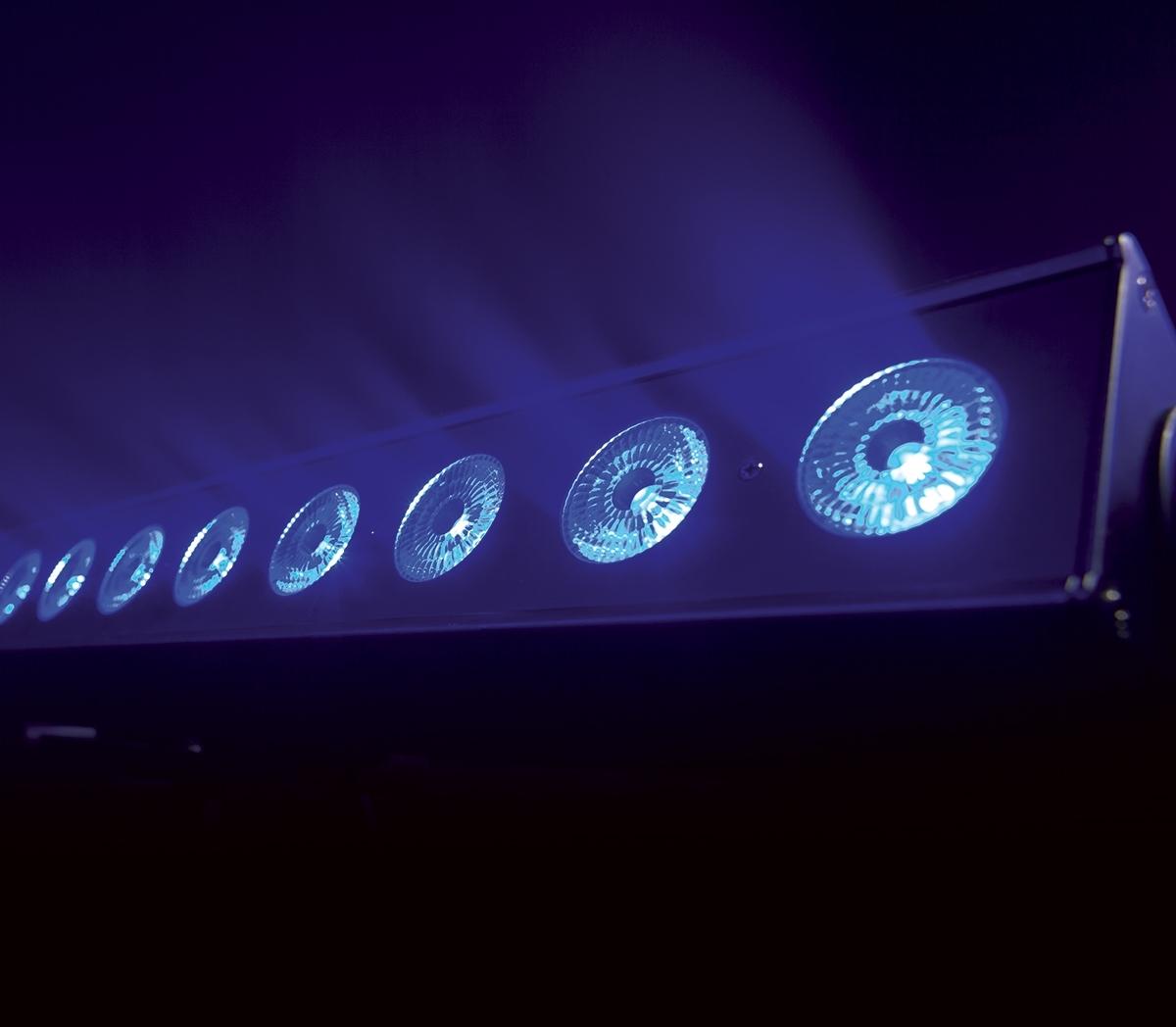 Sagitter SG ACLBAR10 - Линейный светильник 10 x 15 Вт RGBW LED