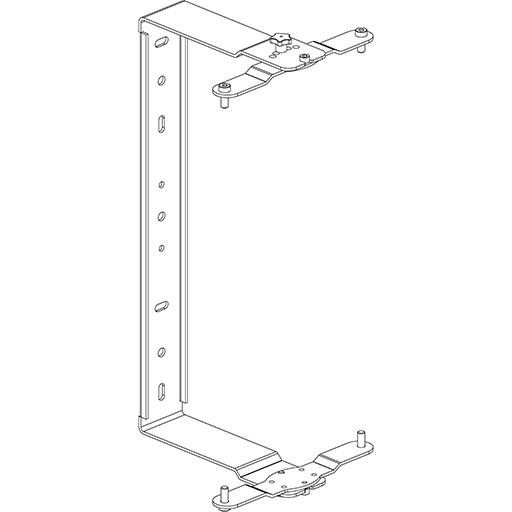 Axiom KPTED120 - С-образный настенный кронштейн для установки ED120P