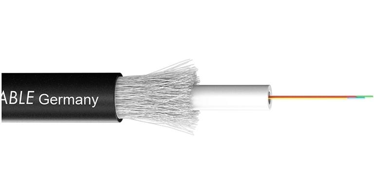 Sommer Cable 590-0421-04 - Оптический кабель серии OCTOPUS-G, одномодульный, 4 волокна (9/125 мкм) класса OS2, ПЭ