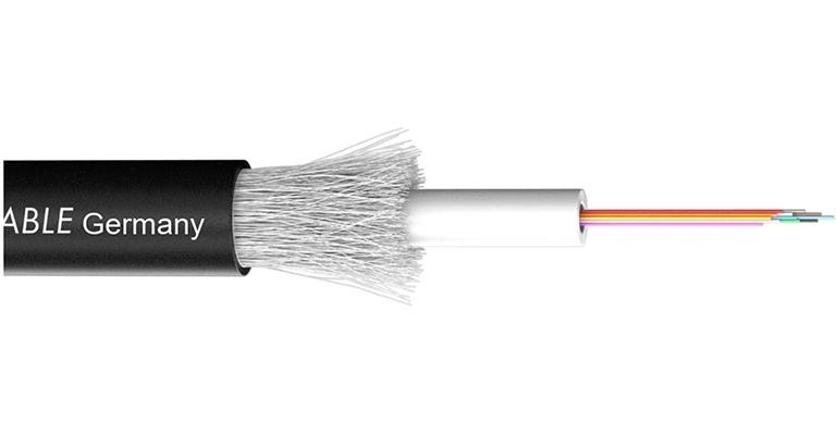 Sommer Cable 590-0411-24 - Оптический кабель серии OCTOPUS-G, одномодульный, 24 волокна (50/125 мкм) класса OM2, ПЭ