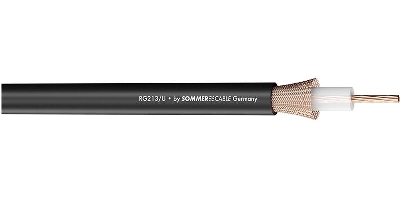 Sommer Cable 600-0571 - Коаксиальный кабель RG-213/U, 50 Ом серии Classic MKII