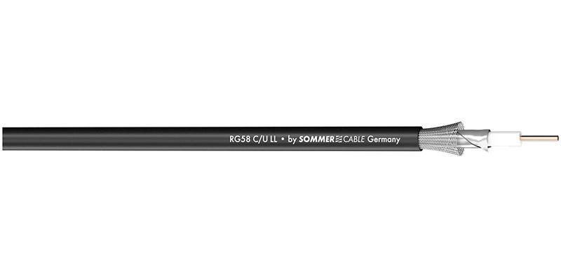 Sommer Cable 600-0401LL - Коаксиальный кабель RG58C/LL, 50 Ом серии Classic MKII
