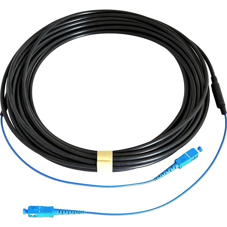 Opticis SSMS-625DT-20 - Многомодовый оптоволоконный кабель с разъемами SC-SC в защитной оболочке