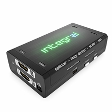 Hkmod HDFURY INTEGRAL 2 - Компактный матричный коммутатор 2х2, масштабатор сигналов HDMI с конвертером HDCP 1.4/2.2, с эмбеддером/деэмбеддером