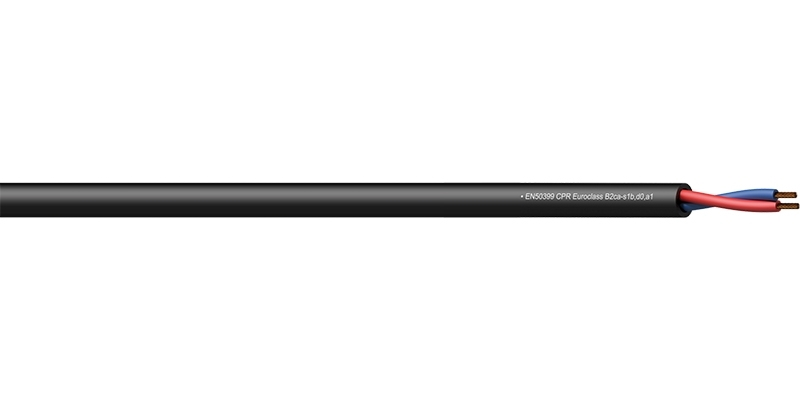 Procab CLS215-B2CA - Акустический кабель 2х1,5 кв.мм (AWG 16), негорючий, версия CPR B2ca