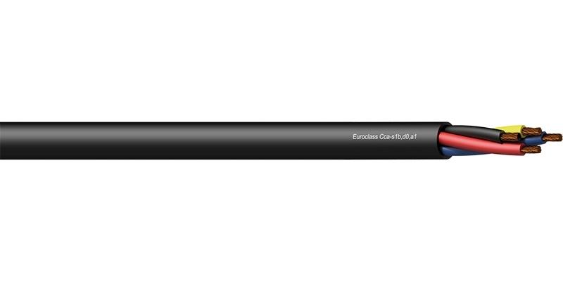 Procab CLS440-CCA/3 - Акустический кабель 4х4,0 кв.мм (AWG 11), негорючий, версия CPR Cca