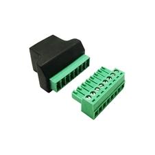 Audac CTA845MK2 - Адаптер для тестирования кабеля c клеммными блоками при помощи тестера RJ45