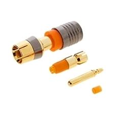 Kramer CON-COMP-RCA/M/-179(26-28#)-GOLD - Разъем RCA, компрессионный, золотое покрытие, для кабеля 26-28 AWG