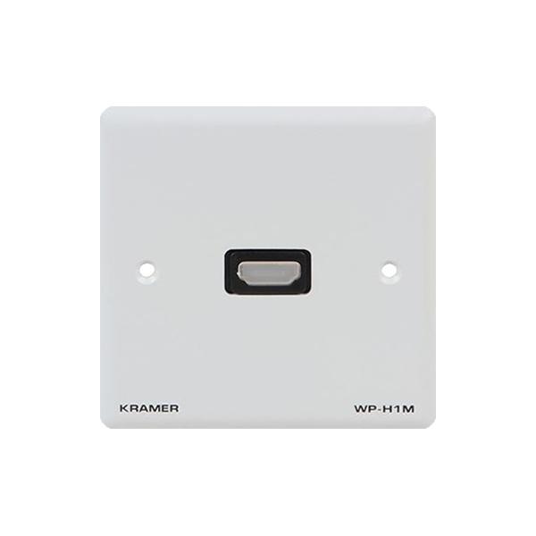 Kramer WP-H1M/EU/GB(W) - Настенная панель-переходник с проходным разъемом HDMI
