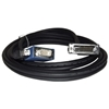 Qtex TC-D35P/VUP-3 - Переходный кабель EVC (вилка) - VGA (вилка) и USB (вилка)