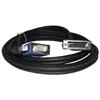 Qtex TC-D35P/VUP-5 - Переходный кабель EVC (вилка) - VGA (вилка) и USB (вилка)