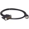 Qtex TC-D30P/HP-10 - Переходный кабель P&D (вилка) - HDMI (вилка)