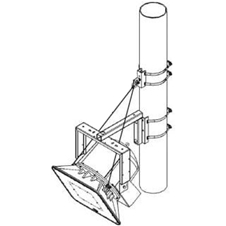 Atlas IED AH-FC-043-S - Монтажный комплект для установки рупорной системы на столб